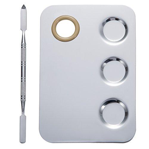 5 8 mal 4 zoll makeup palette edelstahl 3 fach nagelkunst. Black Bedroom Furniture Sets. Home Design Ideas