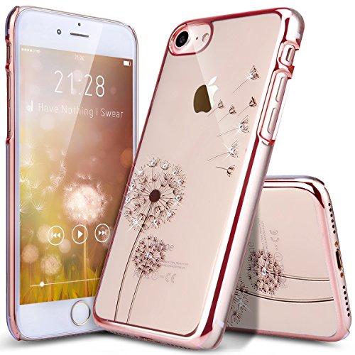 dandelion rose gold iphone 8 h lle iphone 7 h lle ikasus. Black Bedroom Furniture Sets. Home Design Ideas