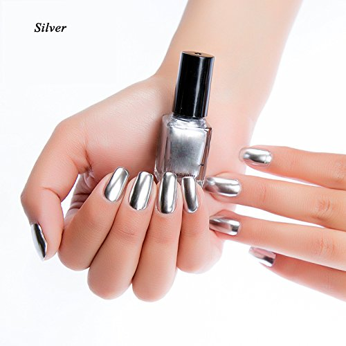 ealine spiegel nagel sch nheit kunst 6 ml spiegel berzogen metall nail art silber laidor. Black Bedroom Furniture Sets. Home Design Ideas